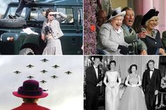 See photos from the British monarch's 61 years on the throne.