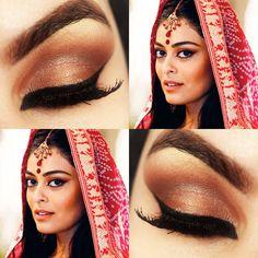 Tutorial – Maquiagem Indiana da Maya de Caminho das Índias