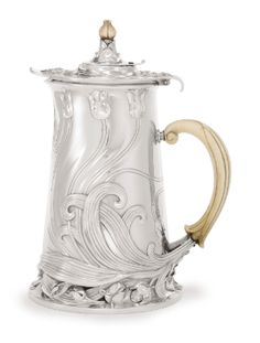 A French Silver Art Nouveau Chocolate Pot, Cardeilhac, Paris, circa 1900 - Sothebys