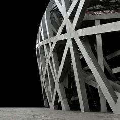 Scalelessness / Beijing by Miroslava Brooks, via Behance Cross Designs, Amazing Architecture, Beijing, Darth Vader, Behance, Exterior, Photography, Inspiration, Spaces