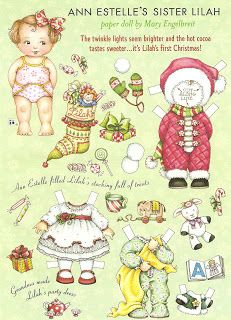 (⑅ ॣ•͈ᴗ•͈ ॣ)♡                                                             ✄Miss Missy Paper Dolls: Mary Engelbreit Lilah