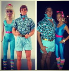 Barbie and Ken Couples Costume