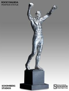 Rocky Balboa: Pewter Rocky Statue - The Movie Store