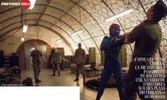 X-Men: Giorni di un futuro passato, rivela oggi nuove immagini di Omar Sy e Jennifer Lawrence nei panni di Bishop e Mystique