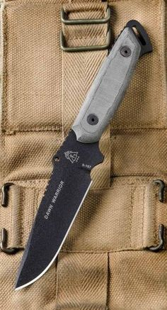 Tops Knives Dawn Warrior Tactical Fixed Blade Knife