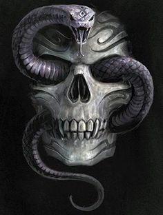 snake &skull