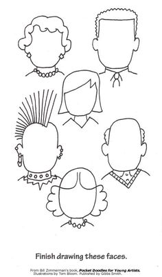 Complete the Faces Free Printables!