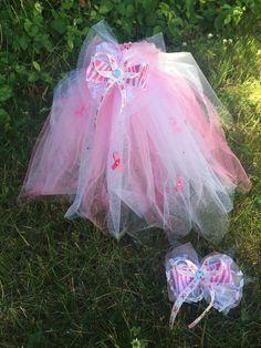Tutu, Breast Cancer tutu, Little girls Tutu by CoconutCoutureDiva on Etsy