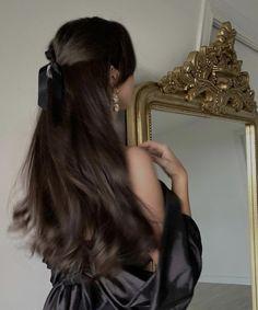 Hair Inspo, Hair Inspiration, Aesthetic Hair, Sky Aesthetic, Flower Aesthetic, Dream Hair, Pretty Hairstyles, Hair Goals, Her Hair