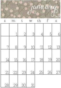 Printable  Calendar With Federal Holiday  Calendar