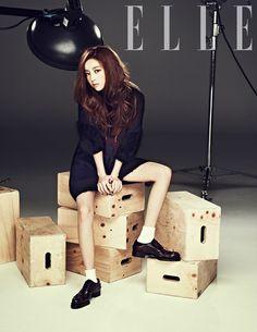 KARA's Hara poses for 'Elle Girl' magazine