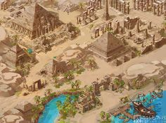 The valley of the kings by Ecystudio