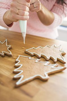 Christmas Inspiration, Food Inspiration, How To Make Gingerbread, Sugar Cookie Icing, Something Sweet, Christmas Home, Christmas Ideas, Royal Icing, Mind Blown