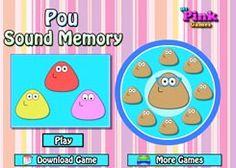 PouJuegos.com - Juego: Pou Sound Memory - Jugar Juegos Gratis Online Flash