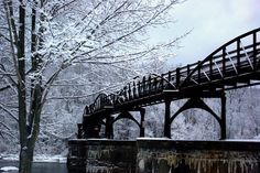 Winter at Ohiopyle, PA
