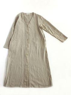 evam eva crash linen robe