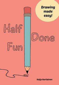 half done fun doodle book