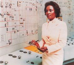 Annie Easley on the cover of NASA's Science and Engineering Newsletter, circa 1960s. Easley's career at NASA spanned 34 years, where she developed computer programs related to alternative energy solutions, including wind and solar power, energy conversion, and vehicular batteries.