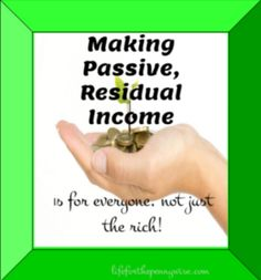 Enjoy Life – Work Less with Passive Residual Income |Residual income is such a powerful life changing tool. It changes your relationship with your money, you stop working for your money and begin letting your money work for you.  *Life for the Penny Wise