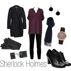 Sherlock Holmes, created by ja-vy on Polyvore