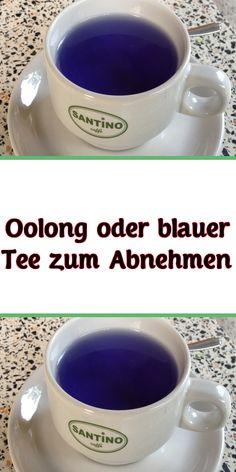 Nehmen Sie blauen Tee, um Gewicht zu verlieren