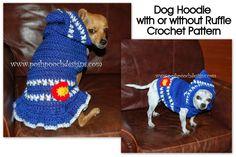 small dogs, crochet patterns