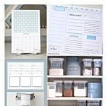 Five Ways to Get Organized in 2014 with Free Printables..