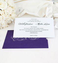 Svatební oznámení kapsa se jmény - G2014B : svatební oznámení