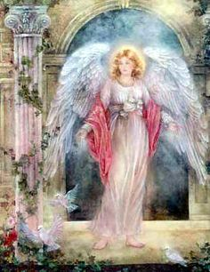 ✨ Angels around us, angels beside us, angels within us. Angels are watching over you when times are good or stressed. Their wings wrap gently around you, whispering you are loved and blessed. —Angel Blessing ✨