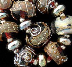 GSD perles artisanales bio verre-fait sur commande de chocolat