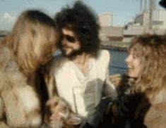 Fleetwood Mac-everyone laughing and having a good time....
