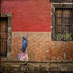 Woman in San Miguel de Allende, Guanajuato, Mexico