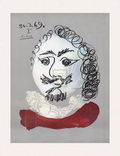 Pablo Picasso   Portraits Imaginaires 30.3.69 I