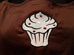 Cupcake APRON Embroidered on Kitchen or BBQ by JulsSewCrazy, $20.00