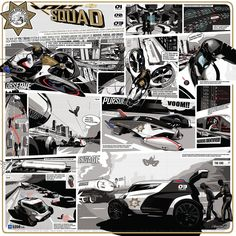 My work for LA Design Challenge featuring theGM Volt Squad. I did the artwork and storyboard.