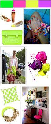 spring trend...neon