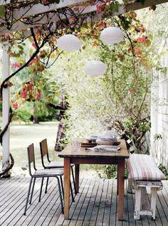 Da will ich doch schon wohnen!    Vintage + Garden= ♥