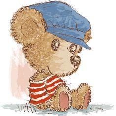 Teddy bear by Toru Sanogawa, via Behance