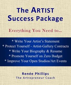 Follow Renee Phillips' blog for guidance and inspiration to help you attain your art career goals. Craft Business, Creative Business, Art Careers, Jobs In Art, Sell My Art, Selling Art Online, Career Goals, Artist Life, Marketing