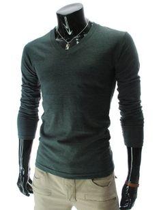 Casual Slim Fit Long Sleeve Tshirt