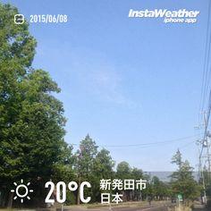 おはようございます! 今日までいい天気みたいです~♪
