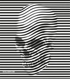 85.OP ART  Es un estilo de arte visual que hace uso de ilusiones ópticas. El observador participa activamente moviéndose o desplazándose para poder captar el efecto óptico completamente, por tanto se puede decir que no existe ningún aspecto emocional en las obras.