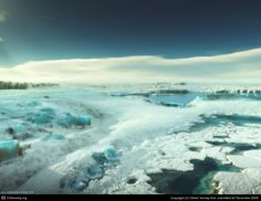 Ice land by Olivier Vernay-Kim | 3D | CGSociety
