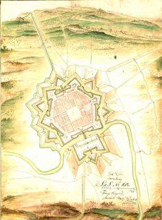Saarlouis, Germany fortification 1693