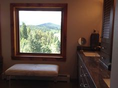 View from new master bath window.
