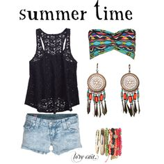 """summmaa"" by caitlinnbroadwell on Polyvore"