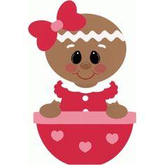 Silhouette Design Store: gingerbread girl peeking over bowl Christmas Rock, Christmas Frames, Christmas Gingerbread, Christmas 2016, Xmas, Silhouette Cameo, Silhouette Online Store, Silhouette Design, Vintage Valentine Cards