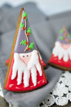 Haniela's: Meet Christmas Gnome : Holly Leaf Hat