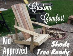 Handmade Adirondack chairs, 125$, pick your stain color,  970-444-2734. Grand Junction, CO