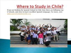 Get top Spanish Language Schools list which provide Spanish language classes in Chile. Student can learn Crash Course and Advance Course. For more detail - watch the Video-